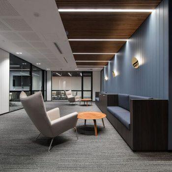 Acoustic Panels - 26x26mm square profile - Teak