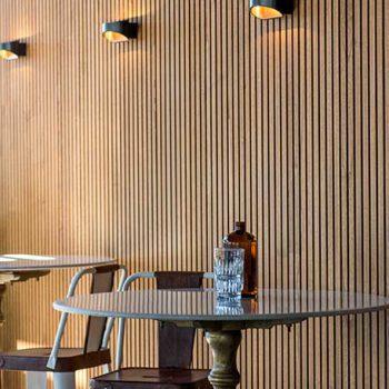 Designer Lining double profile - Teak