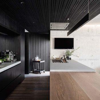 Designer Lining double & single profile - Charcoal